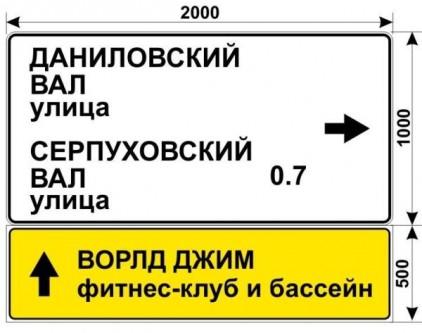 Макет знака на Дубининской улице для фитнес клуба ВОРЛД ДЖИМ с бассейном