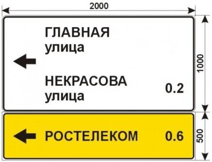 Макеты дорожных знаков для РОСТЕЛЕКОМ 4